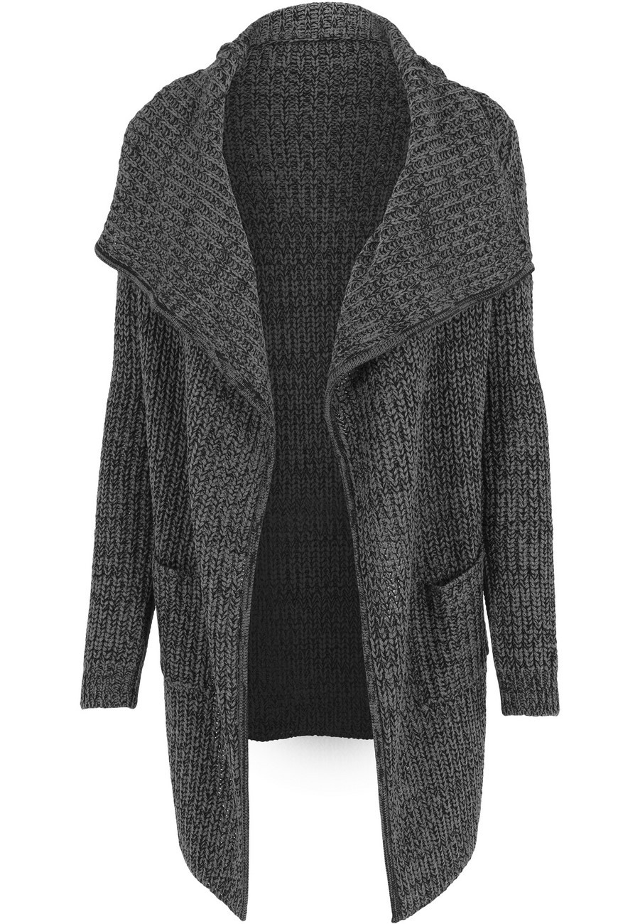 Urban Classics Ladies Knitted Long Cape