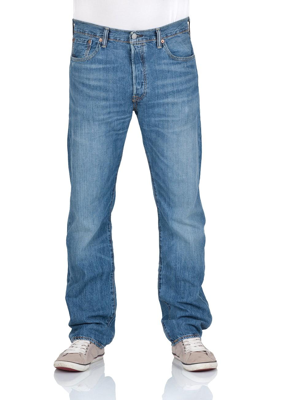 Levi´s® Herren Jeans 501® Original Fit - Blau - Evans W 32 L 32, Evans (2242)
