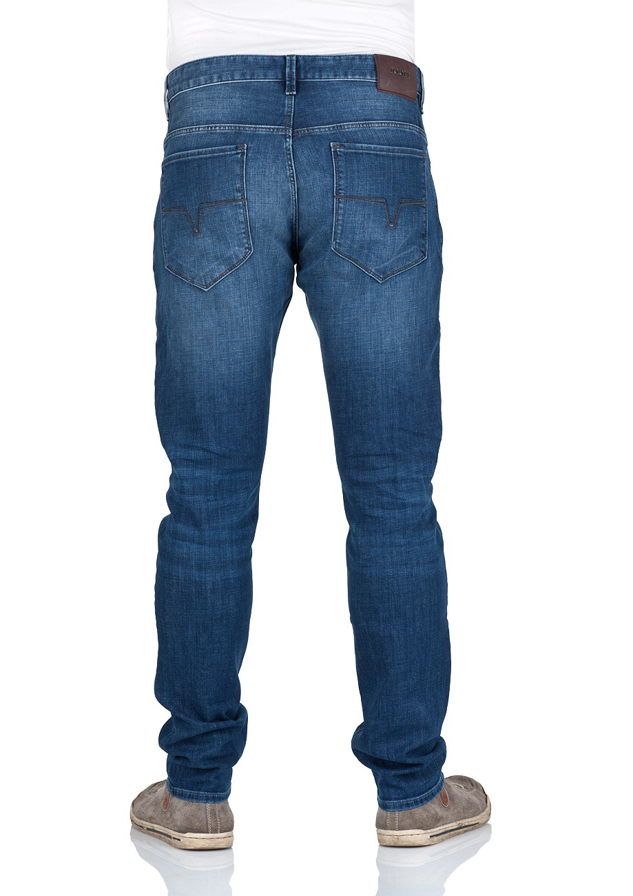 Joop! Herren Jeans Stephen - Slim Fit - Blau - Authentic Used