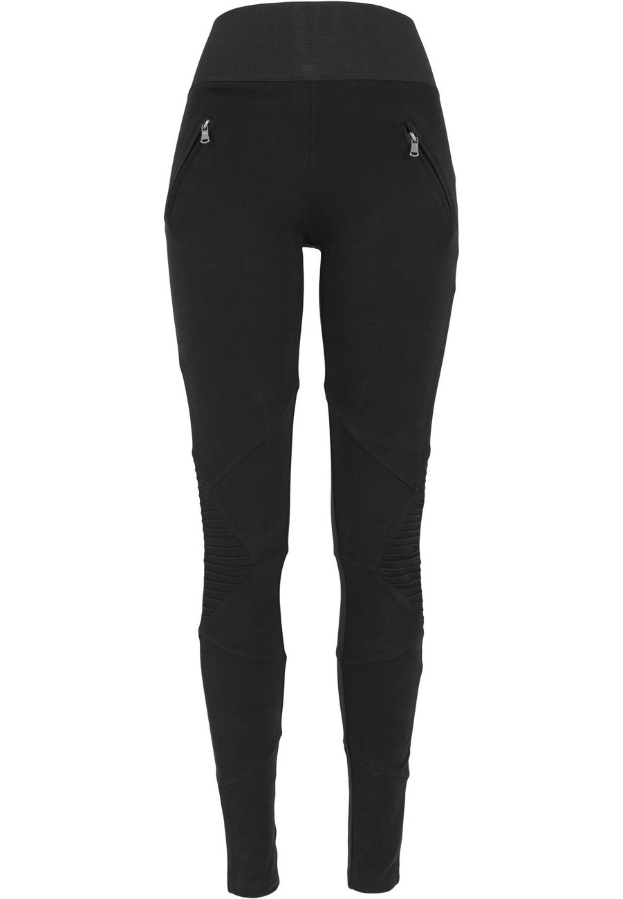 Urban Classics Ladies Interlock High Waist Damen Leggings