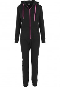 Bild 1 - Urban Classics Ladies Sweat Damen Jumpsuit