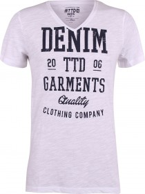 Tom Tailor Denim Herren T-Shirt Garments Print