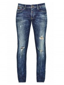 LTB Herren Jeans Servando - Tapered Fit - Blau -  Ravi Wash