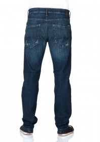 Mavi Herren Jeans Marcel - Straight Leg - Blau - Dark Used Ultra Move