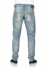 Bild 2 - G-Star Herren Jeans 3301 Slim Fit - Blau - Medium Aged