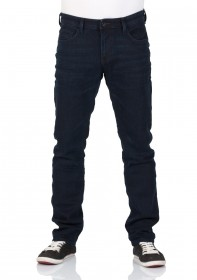 Tom Tailor Denim Herren Jeans Piers - Super Slim Fit - Blau - Dark Dye Blue Denim
