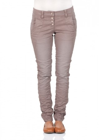 Tom Tailor Damen Hose - Relaxed Tapered