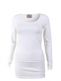 Bild 7 - Vero Moda Damen T-Shirt VMMAXI MY LS SOFT LONG U-NECK