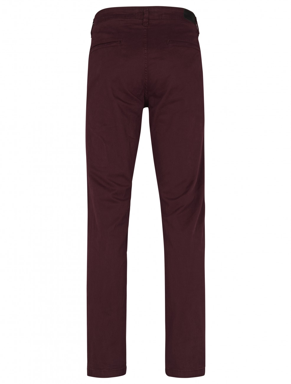 Shine Original Herren Stretch Chino Hose - Straight Fit - Rot - Dark Bordeaux