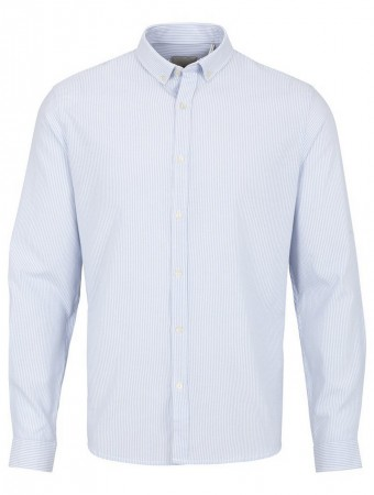 Shine Original Herren Freizeithemd Striped Oxford Shirt