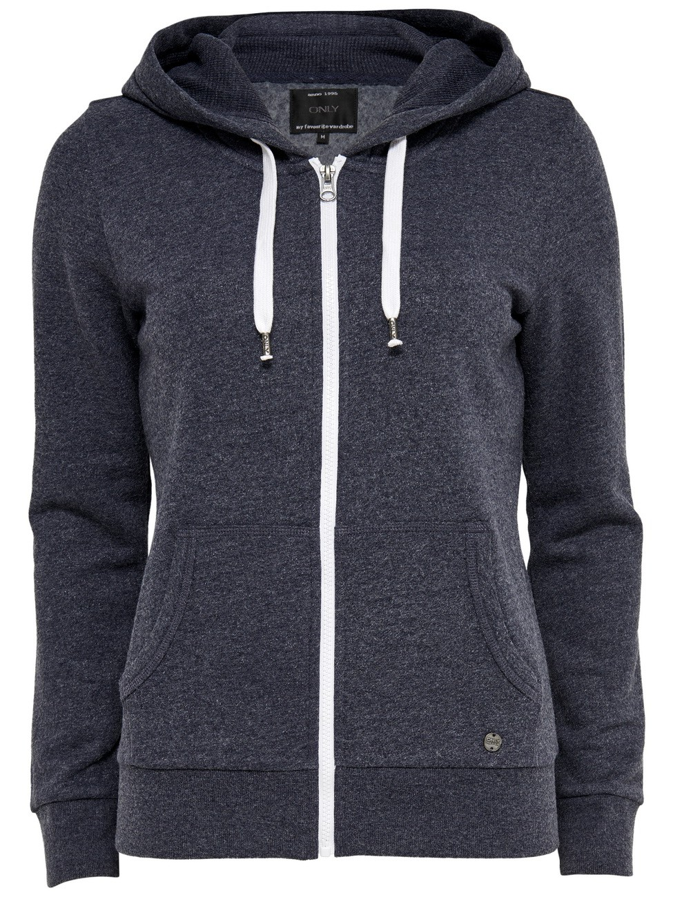 Only Damen Kapuzen Sweater onlFINLEY LS ZIP HOOD