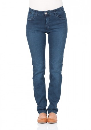 Mustang women s jeans Sissy slim fit - straight leg - blue - stone wash 3f6f4dfbef