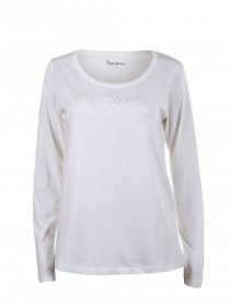 Pepe Jeans London Damen Langarm-Shirt Leona