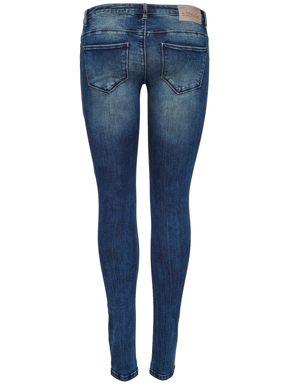Only Damen Jeans onlCORAL SL DNM JEANS GUA12919 - Skinny Fit - Blau - Medium Blue Denim