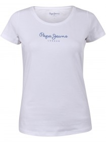 Pepe Jeans London Damen Rundhals T-Shirt New Virginia