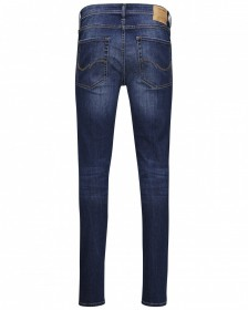 Bild 2 - Jack & Jones Herren Jeans JJILIAM JJORIGINAL AM 014 LID - Skinny Fit - Blau - Blue Denim