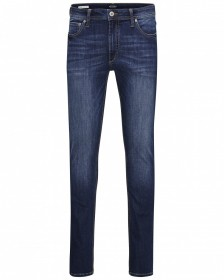 Bild 1 - Jack & Jones Herren Jeans JJILIAM JJORIGINAL AM 014 LID - Skinny Fit - Blau - Blue Denim