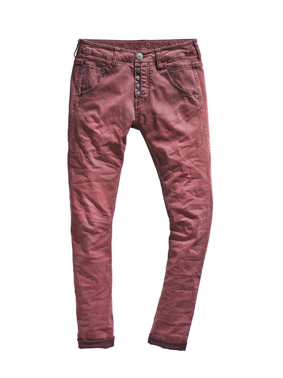 timezone damen hose rivatz slim fit rot riot red kaufen jeans direct de. Black Bedroom Furniture Sets. Home Design Ideas