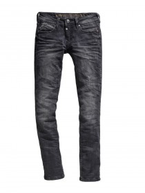 Timezone Damen Jeans NiniTZ -  Slim Fit - Schwarz - Pirate Wash