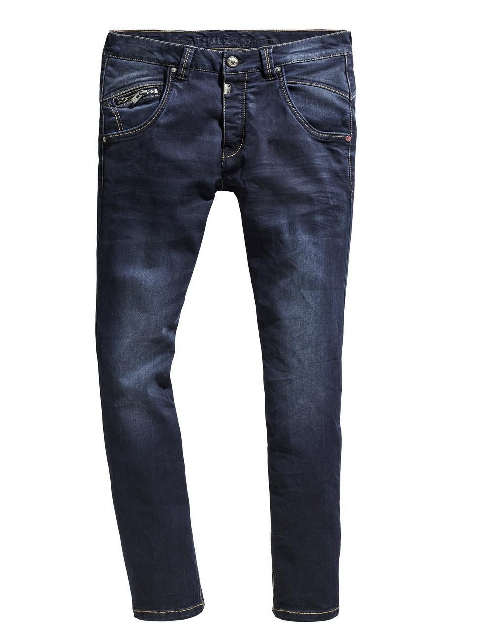timezone herren jeans haroldtz regular fit blau ink. Black Bedroom Furniture Sets. Home Design Ideas