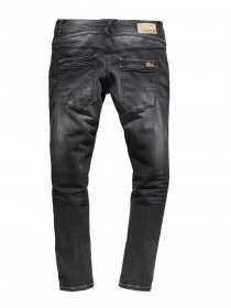 Timezone Herren Jeans ClaymoreTZ - Comfort Fit - Schwarz - Pirate Wash