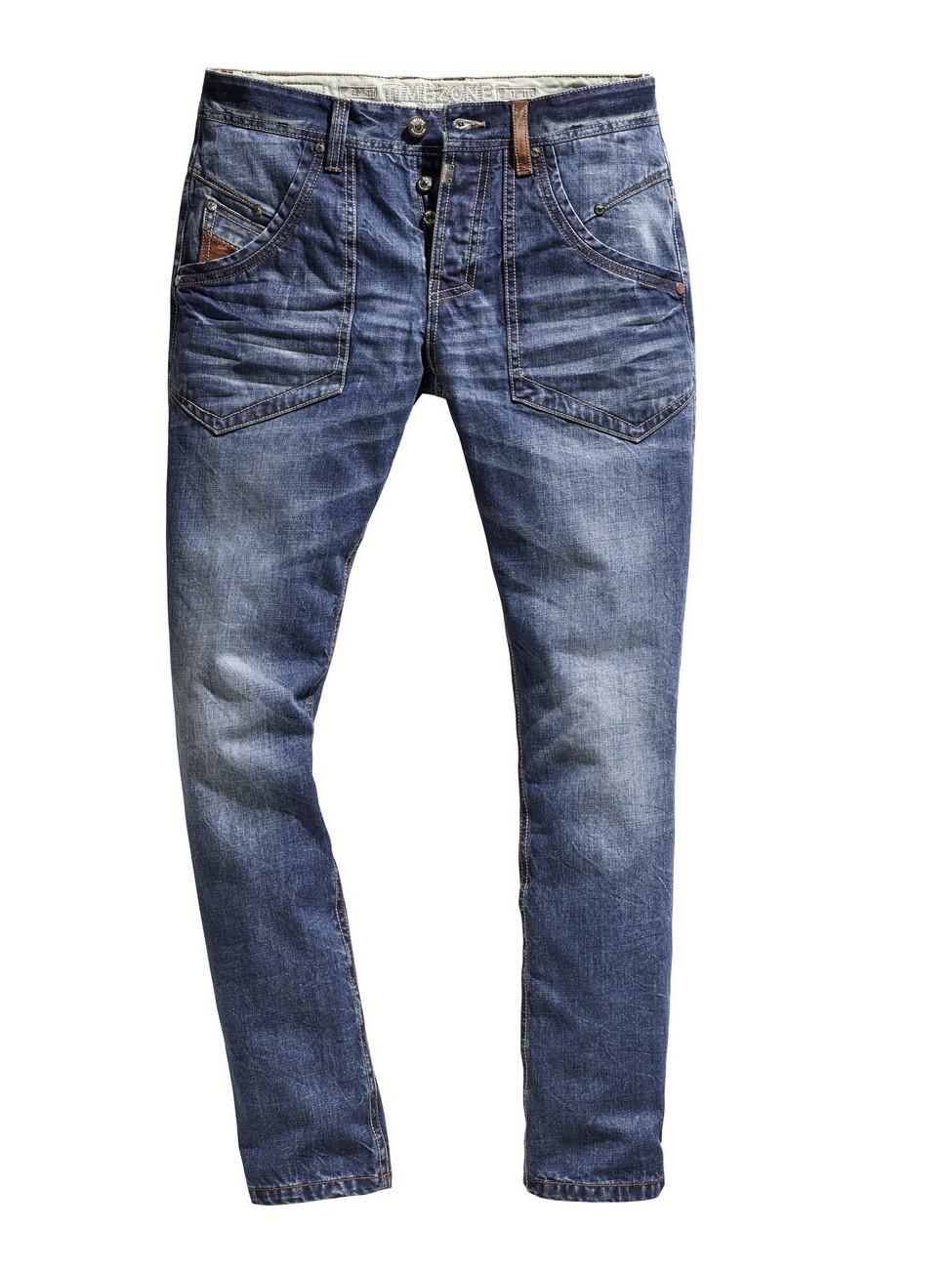 timezone herren jeans claymoretz comfort fit blau. Black Bedroom Furniture Sets. Home Design Ideas