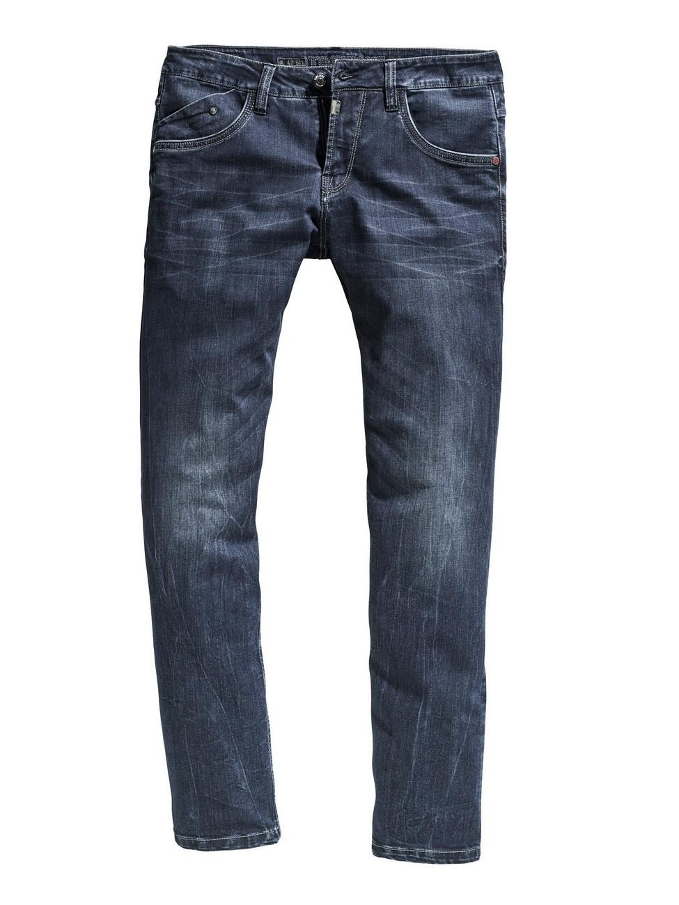 timezone herren jeans jasontz regular fit blau raywash ebay. Black Bedroom Furniture Sets. Home Design Ideas