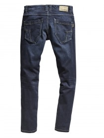Timezone Herren Jeans EduardoTZ Slim Fit - Blau - Ink Shadow Wash