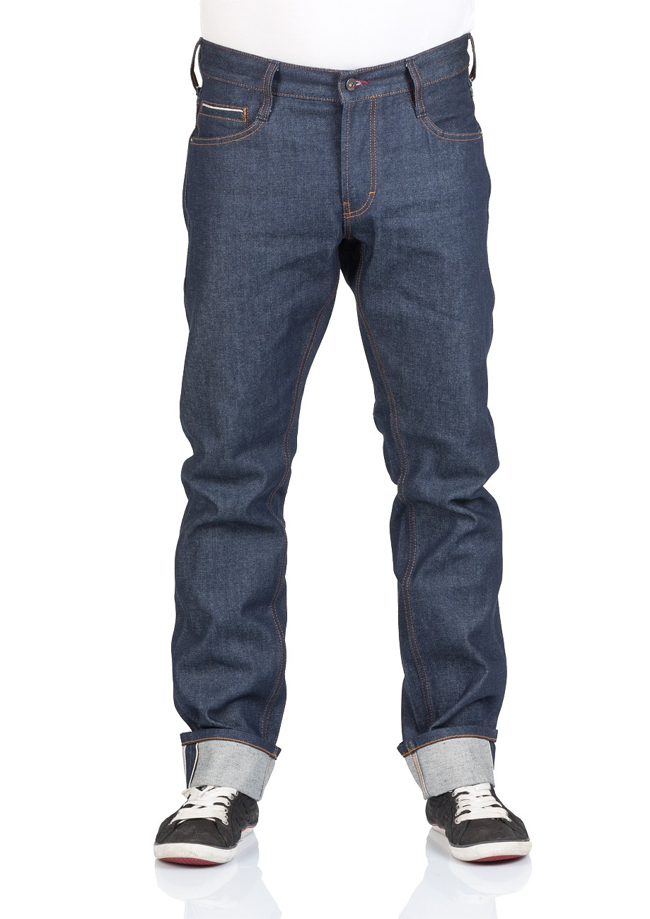 Mustang Herren Jeans Oregon Tapered - Blau - Raw Wash
