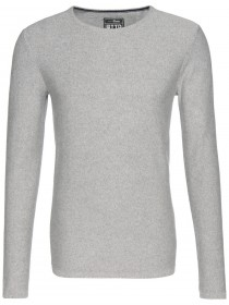 Tom Tailor Denim Herren Sweater Mouline Crew