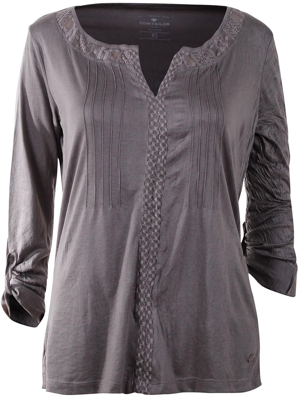 tom tailor damen tunika bluse beautiful crinkle ebay. Black Bedroom Furniture Sets. Home Design Ideas