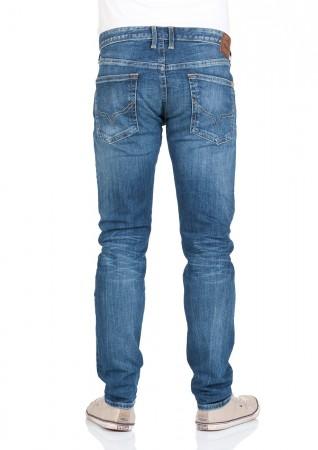 Pepe Jeans Herren Jeans Hatch - Slim Fit - Blau - Streaky Stretch Medium 7731b619e3