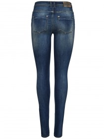 Only Damen Jeans onlSHAPE REG SK DNM JEANS REA11161 - Skinny Fit - Blau - Medium Blue Denim