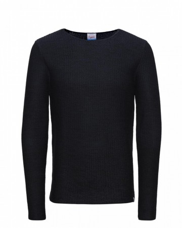 Jack & Jones Herren Rundhals Pullover JORSWING KNIT CREW NECK CAMP