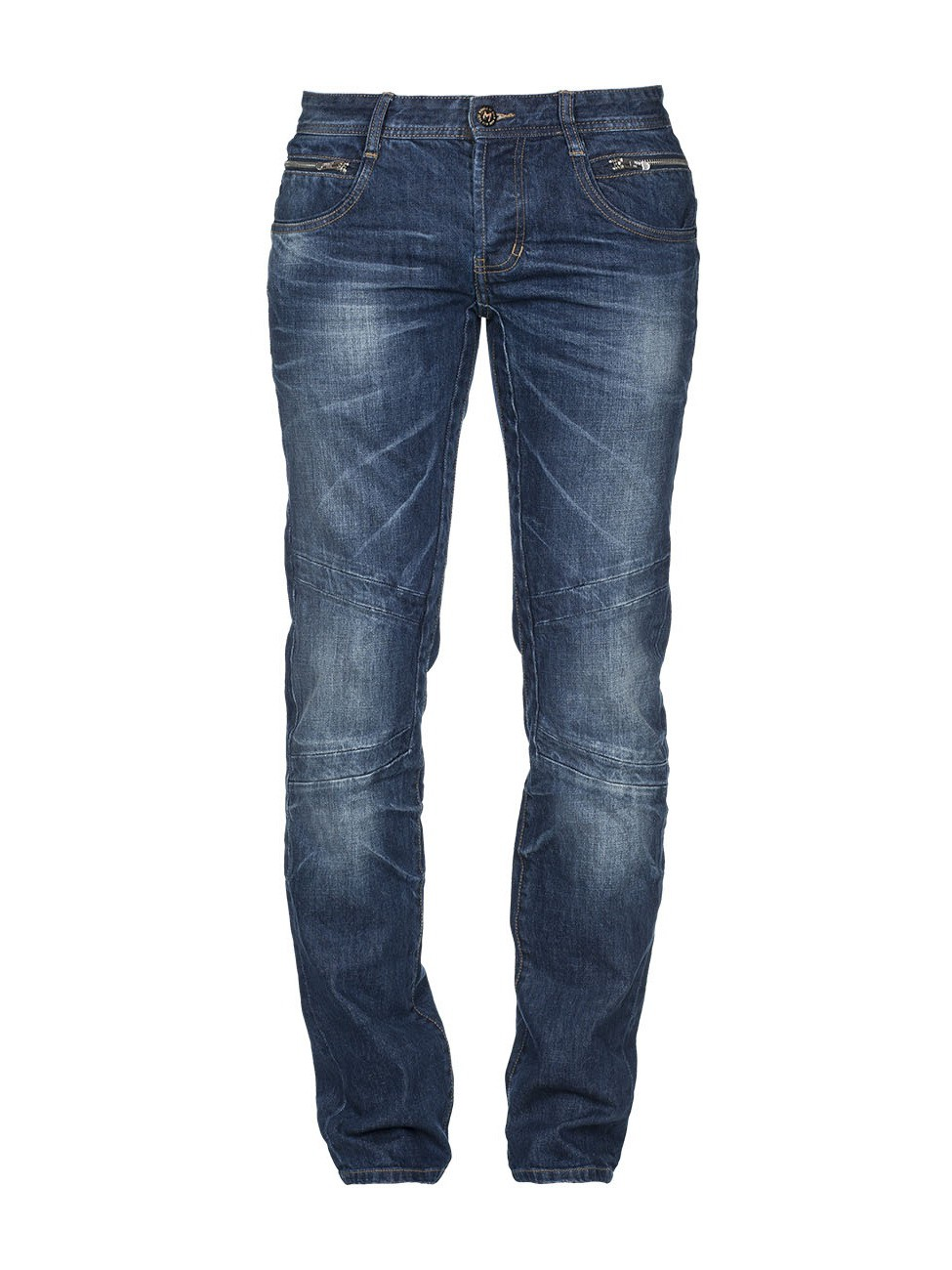 M.O.D. Herren Jeans Jason - Regular Fit - Blau - Vanity Blue