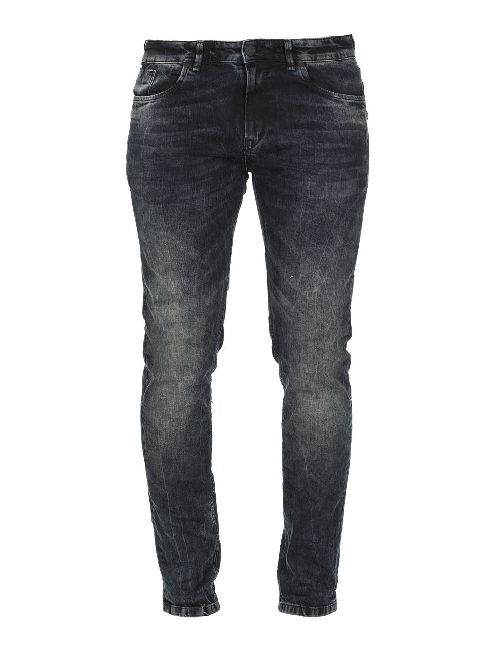 M.O.D. Herren Jeans Marcel - Super Slim Fit - Blau - Brown-Blue