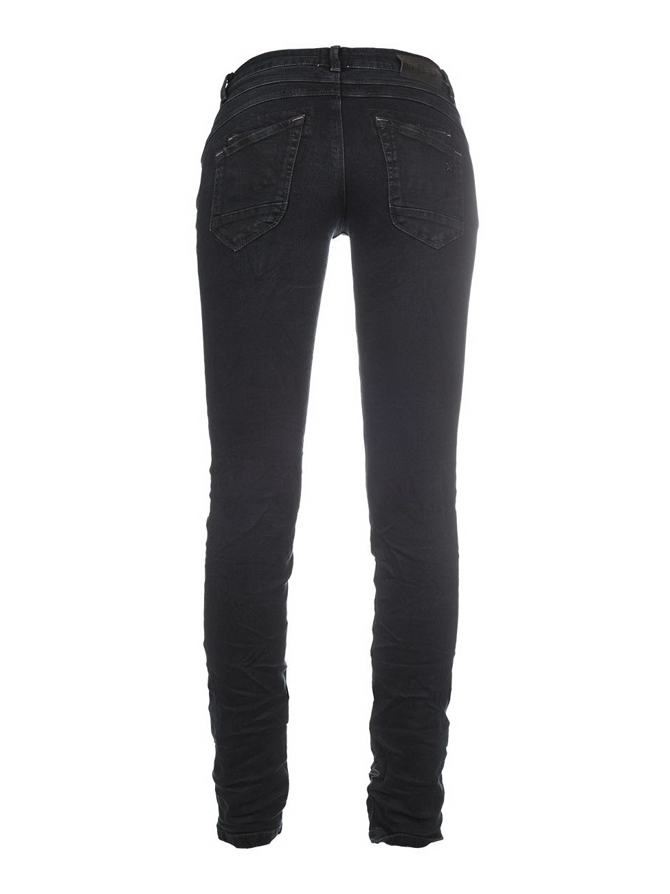 MOD Damen Jeans Ulla - Slim Fit - Schwarz - Smoked Black
