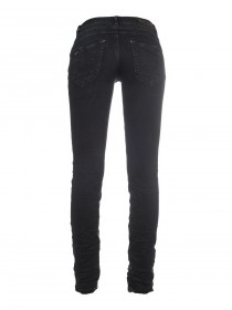 M.O.D. Damen Jeans Ulla - Slim Fit - Schwarz - Smoked Black