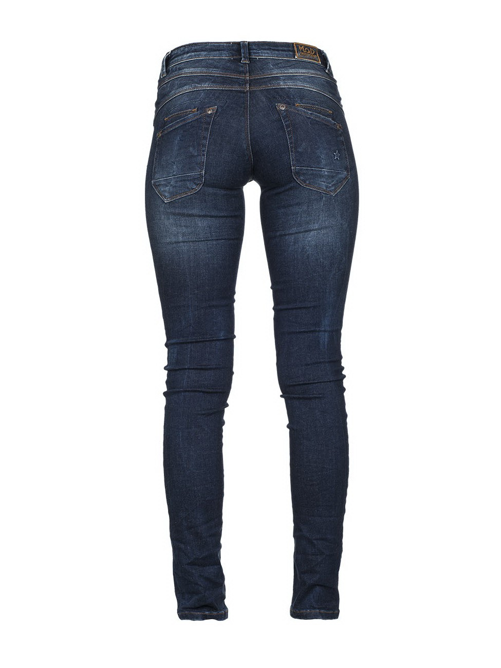 m o d damen jeans ulla slim fit blau strong blue kaufen jeans direct de. Black Bedroom Furniture Sets. Home Design Ideas