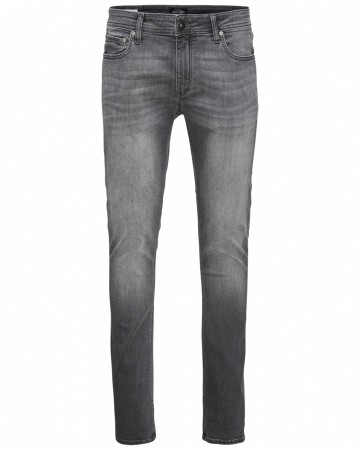 Jack & Jones Herren Jeans JJILIAM JJORIGINAL AM 010 LID - Skinny Fit - Grau - Grey Denim