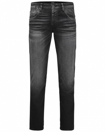 Jack & Jones Herren Jeans JJIMIKE JJIRON JOS 314 - Comfort Fit - Schwarz - Black Denim