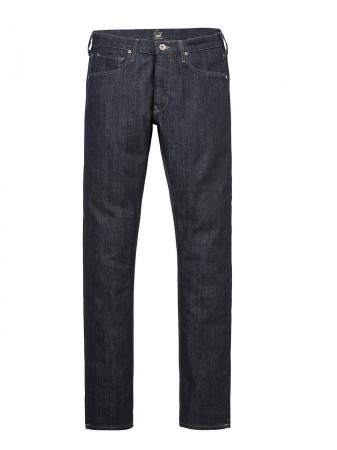 Lee Herren Jeans Rider - Slim Fit - Blau - Rinse Wash