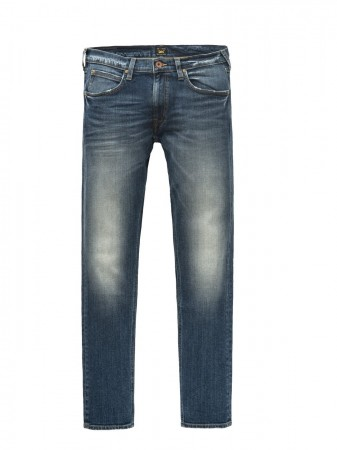 Lee Herren Jeans Rider - Slim Fit - Blau - Blue Surrender