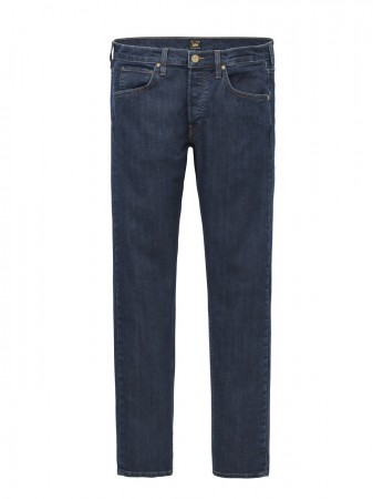Lee Herren Jeans Daren Zip Regular Slim - Blau - Dark Stonewash
