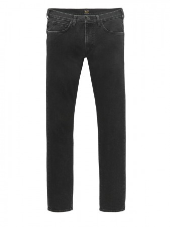 Lee Herren Jeans Luke Slim Tapered - Schwarz - Dark Freeze