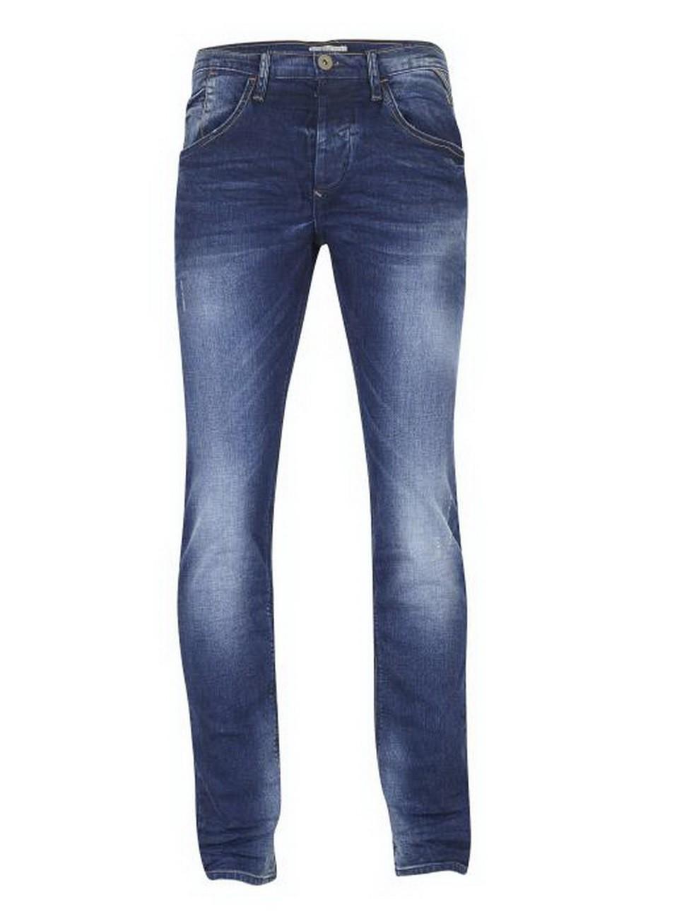 blend herren jeans twister slim fit blau mid blue ebay. Black Bedroom Furniture Sets. Home Design Ideas