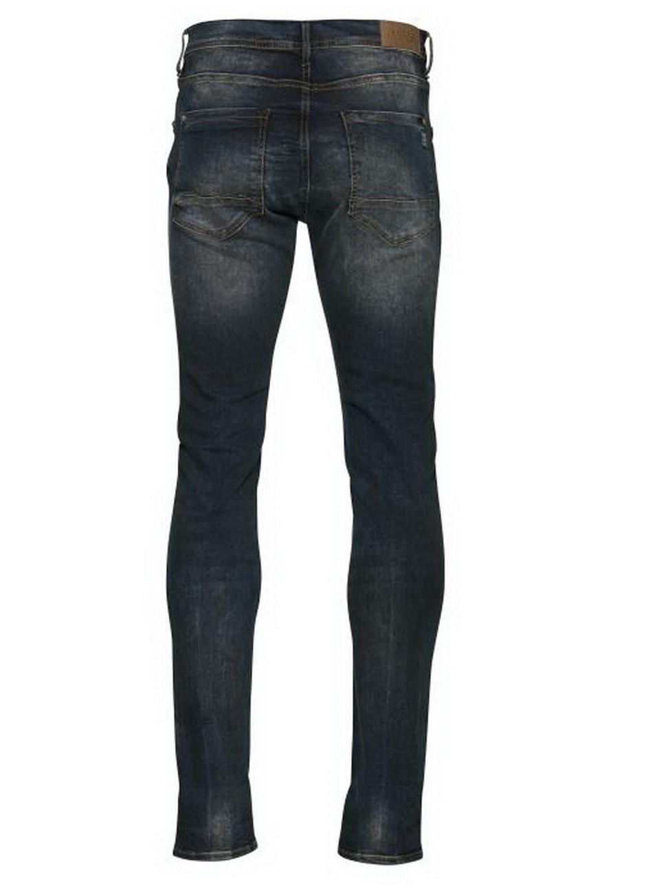 blend herren jeans jet slim fit blau denim middle. Black Bedroom Furniture Sets. Home Design Ideas