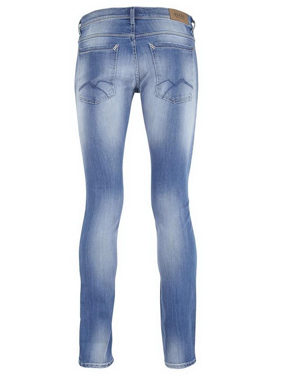blend herren jeans cirrus skinny fit hellblau middle. Black Bedroom Furniture Sets. Home Design Ideas