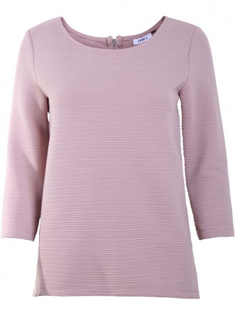 Only Damen Top onlLECO 3/4 ZIP TOP JRS