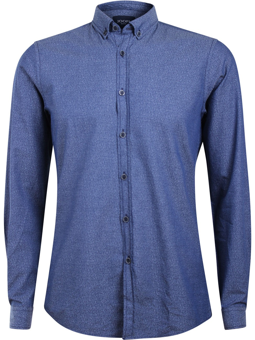 joop herren business hemd haye modern fit blau kaufen. Black Bedroom Furniture Sets. Home Design Ideas